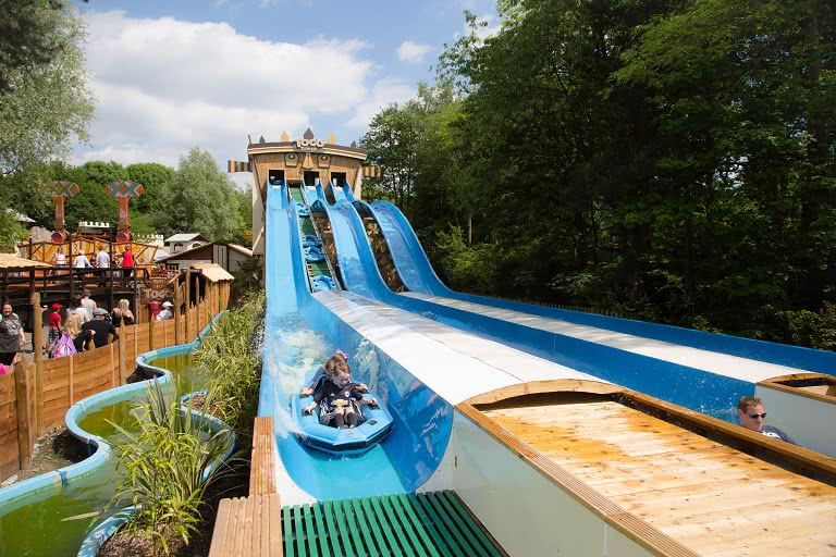The Togo Towers - water slide ride
