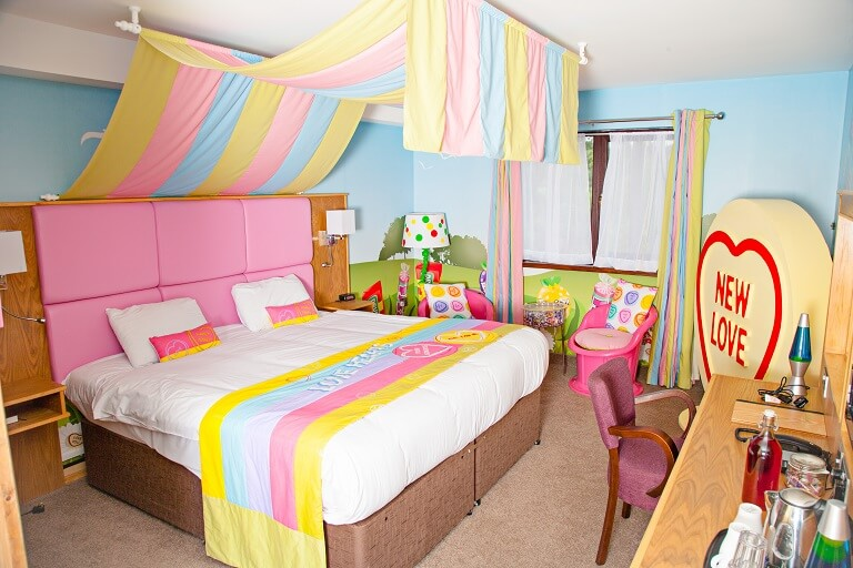 Swizzels sweets themed room