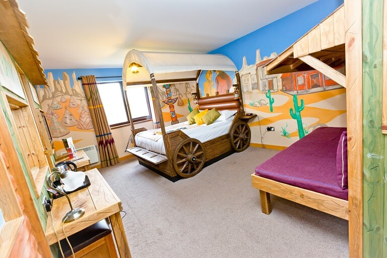 Western themed room